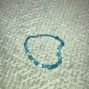 Jewelry - Blue seaglass bracelet